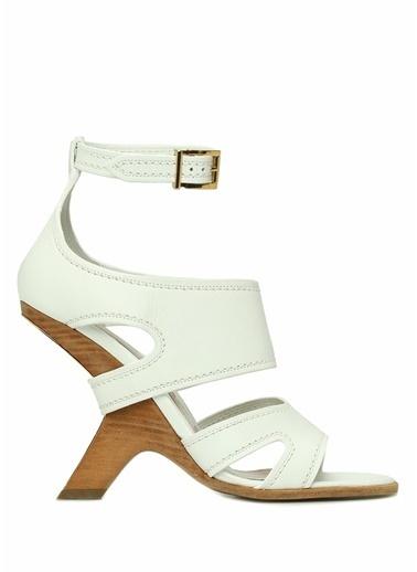 Alexander McQueen Sandalet Beyaz